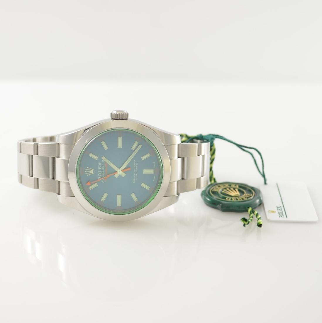 ROLEX wristwatch Oyster Perpetual Milgauss 116400GV