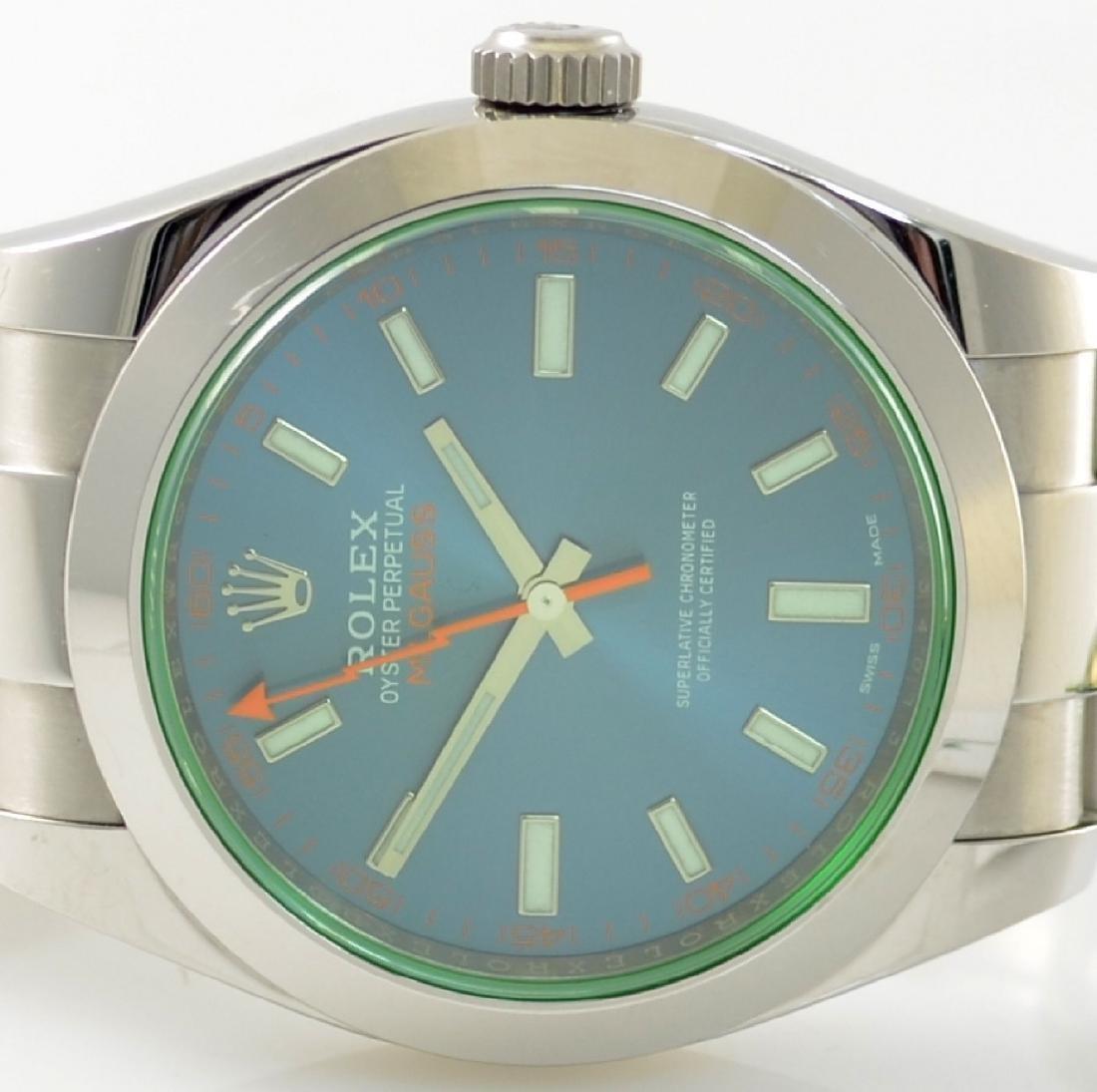 ROLEX wristwatch Oyster Perpetual Milgauss 116400GV - 2