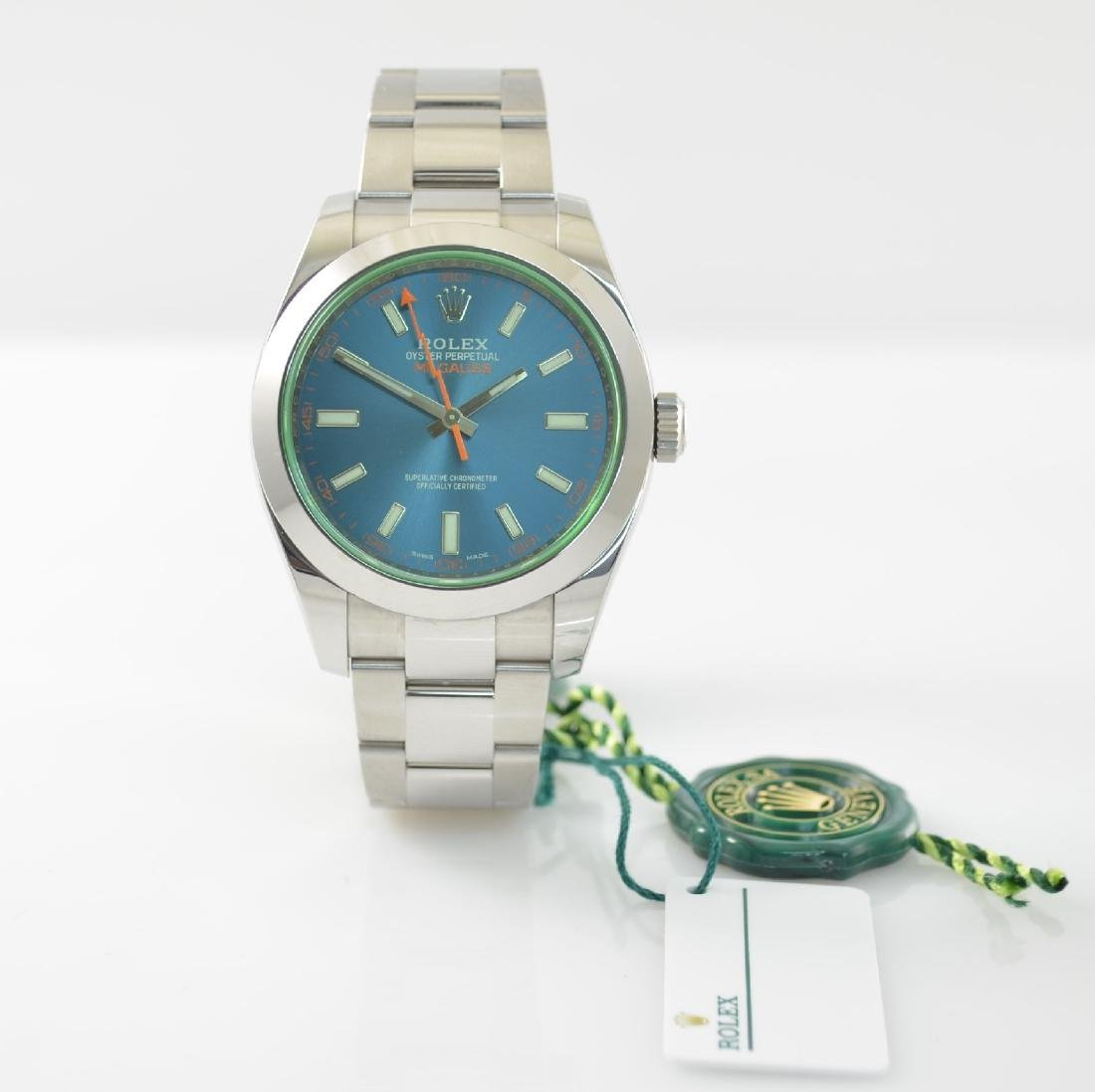 ROLEX wristwatch Oyster Perpetual Milgauss 116400GV - 3