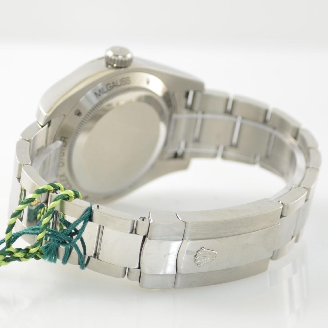 ROLEX wristwatch Oyster Perpetual Milgauss 116400GV - 5