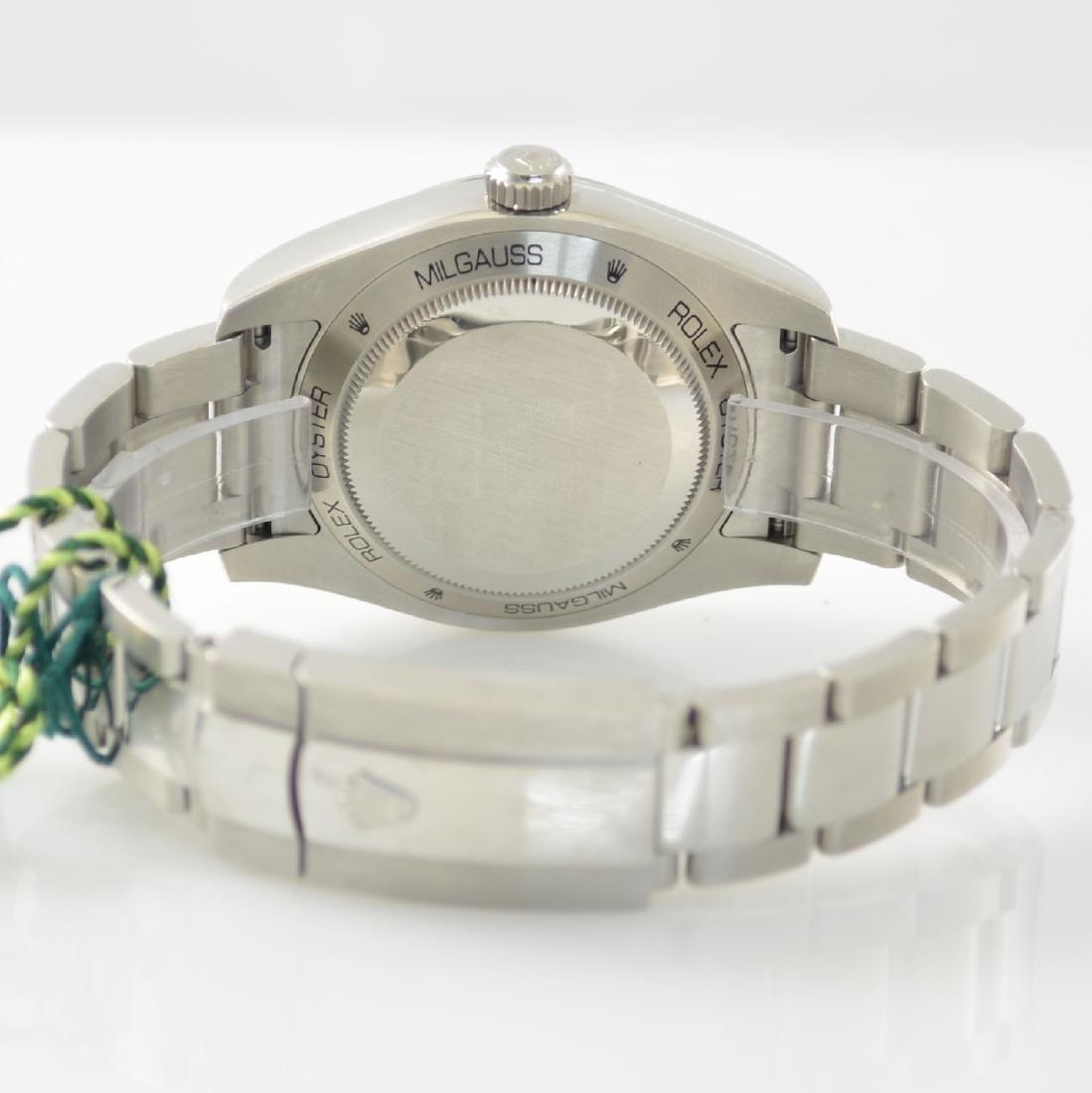 ROLEX wristwatch Oyster Perpetual Milgauss 116400GV - 6