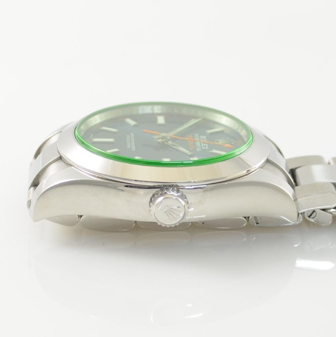 ROLEX wristwatch Oyster Perpetual Milgauss 116400GV - 7