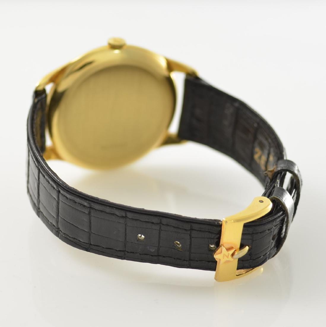 ZENITH oversized 18k yellow gold gents wristwatch - 5