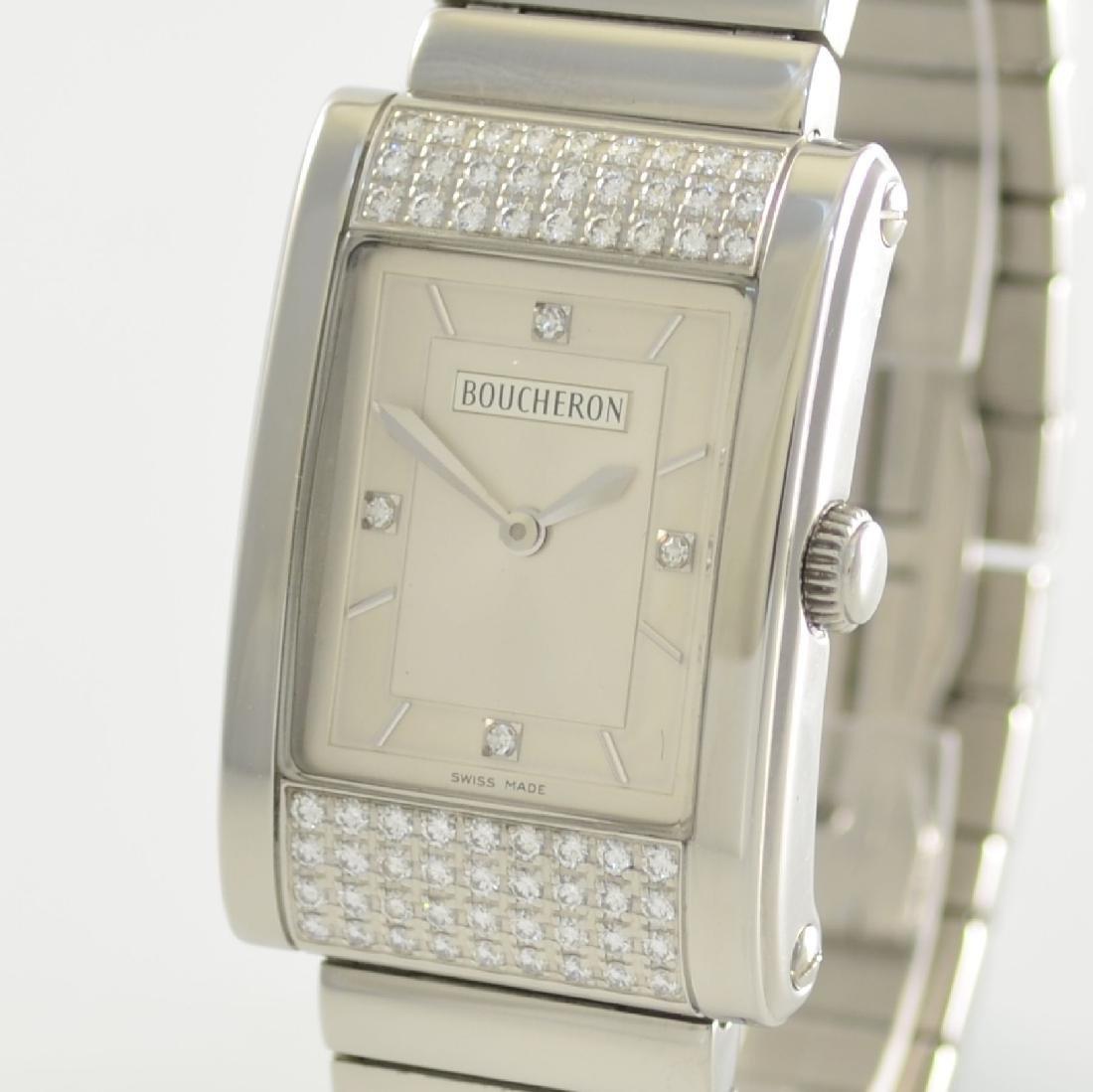 BOUCHERON ladies wristwatch series Reflet - 4