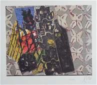 Markus Lüpertz, born 1941, color offset, signed and