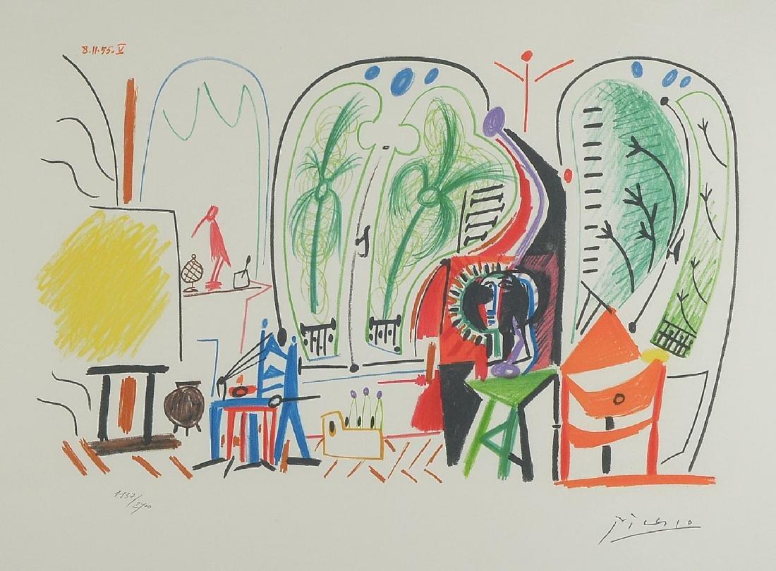 Pablo Picasso, 1881-1973, Californie artist atelier