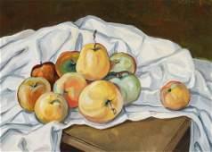 Werner Brand, born 1933 Löbau, Apple