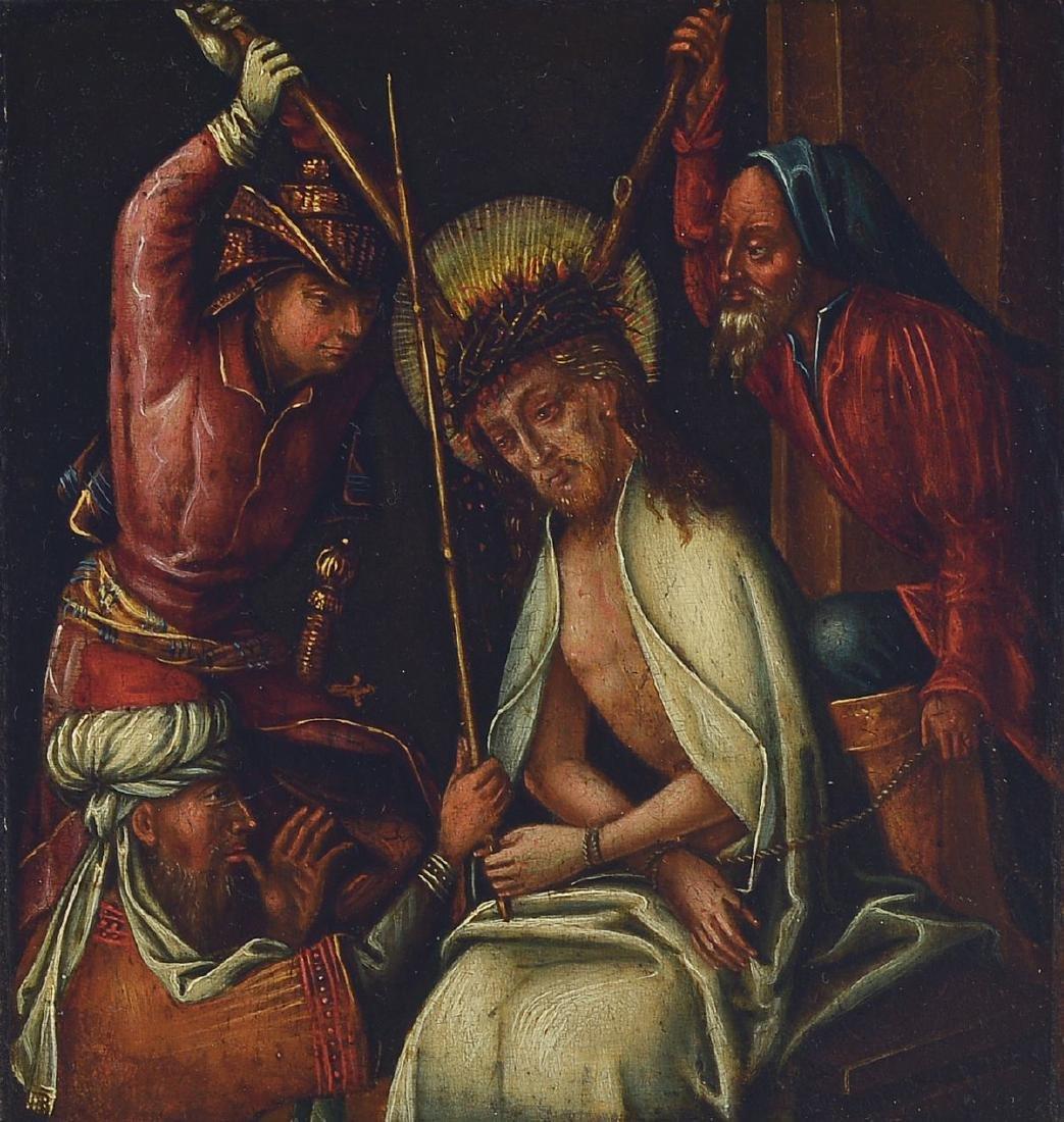 Southern German master, around 1500, Flagellation