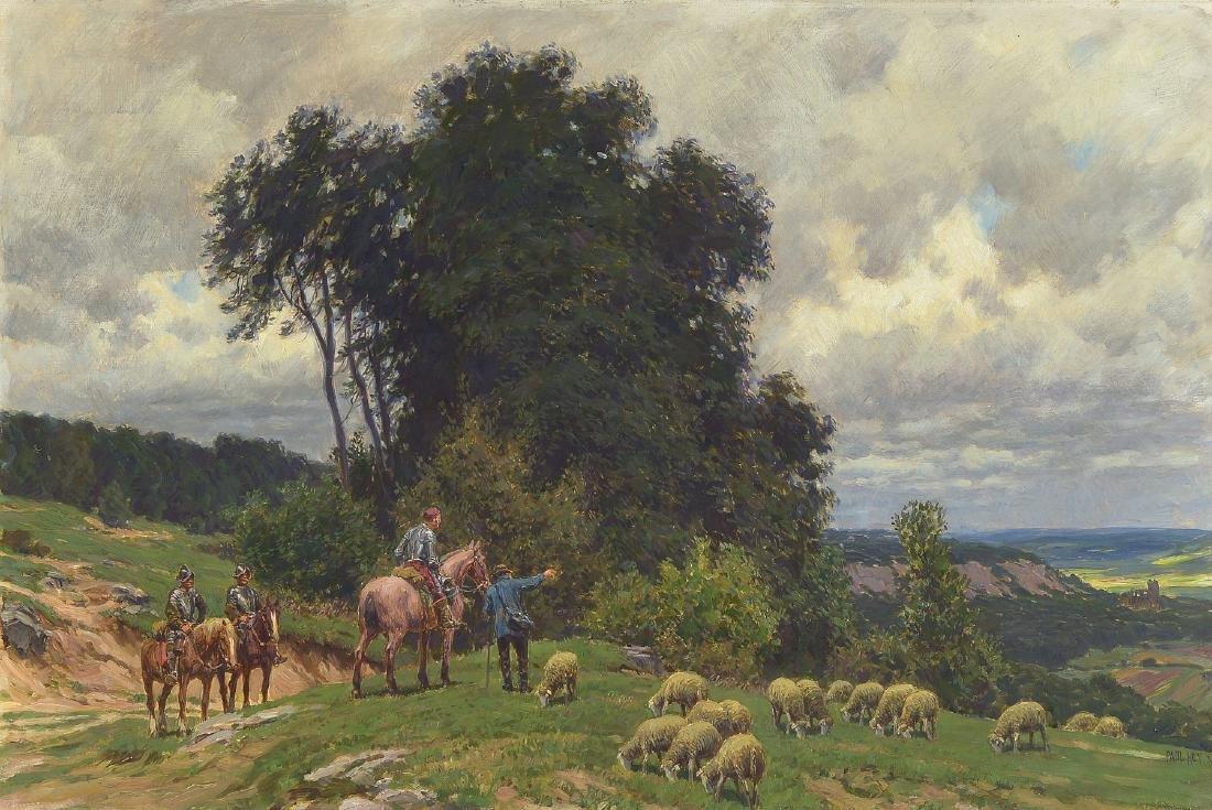 Paul Hey, 1867 Munich-1952, Studies at the academy