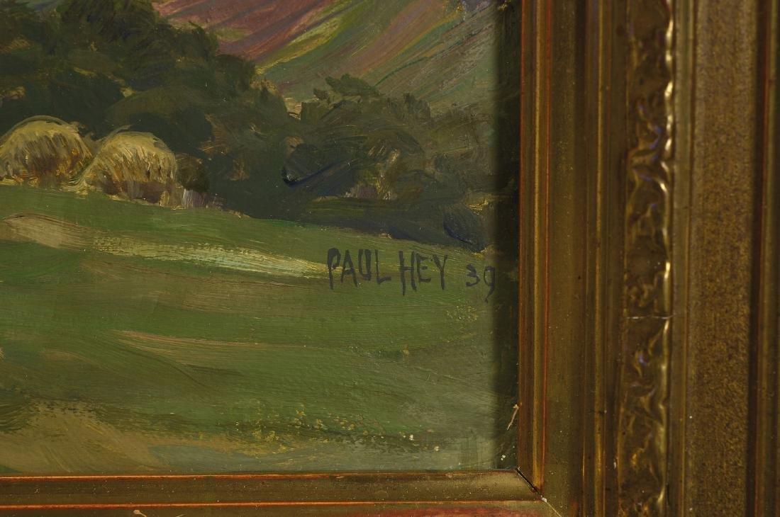 Paul Hey, 1867 Munich-1952, Studies at the academy - 2