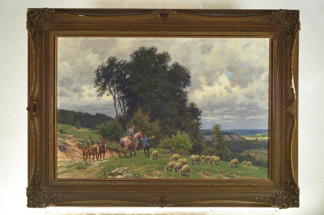 Paul Hey, 1867 Munich-1952, Studies at the academy - 4