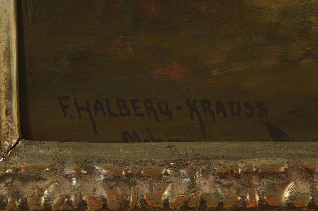 Fritz Halberg-Krauss, 1874 Stadtprozelten- 1951 Prien - 2