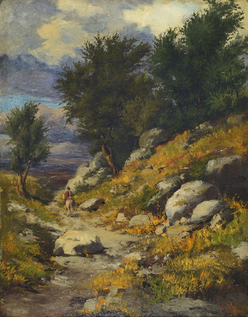 Kurt Spitz, 1853 Karlsruhe-1937 Freiburg, landscape