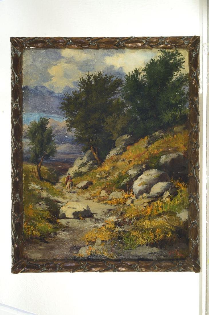 Kurt Spitz, 1853 Karlsruhe-1937 Freiburg, landscape - 4
