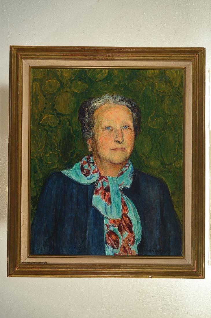 Hans Purrmann, 1880 Speyer-1966 Basel, portrait of - 4