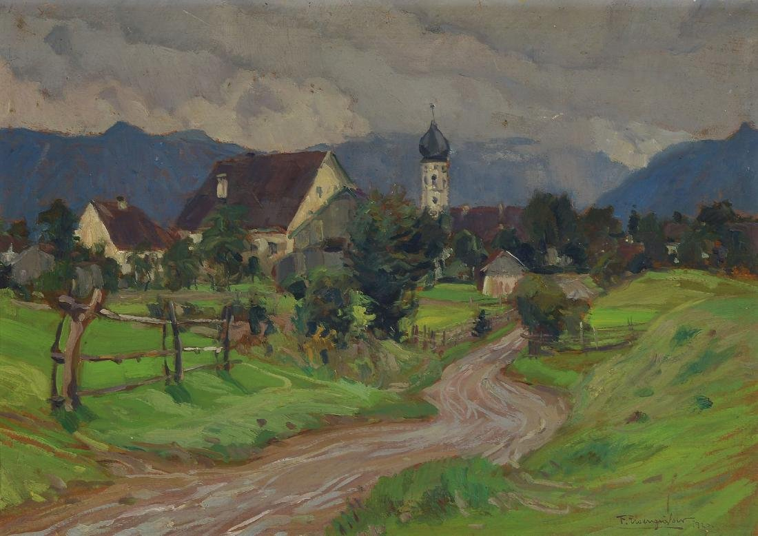 (Karl) Felix Eisengräber, 1874 Leipzig-1940 Munich
