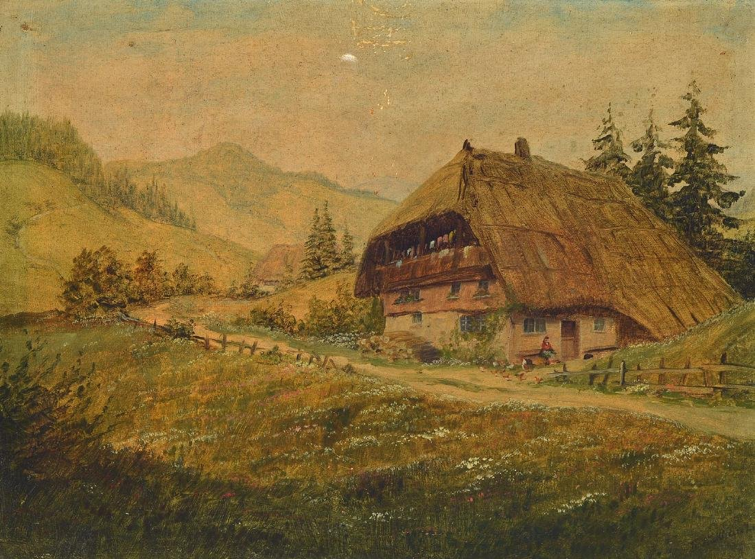 Karl Luckhardt, 1886-1970 Frankfurt, Black Forest