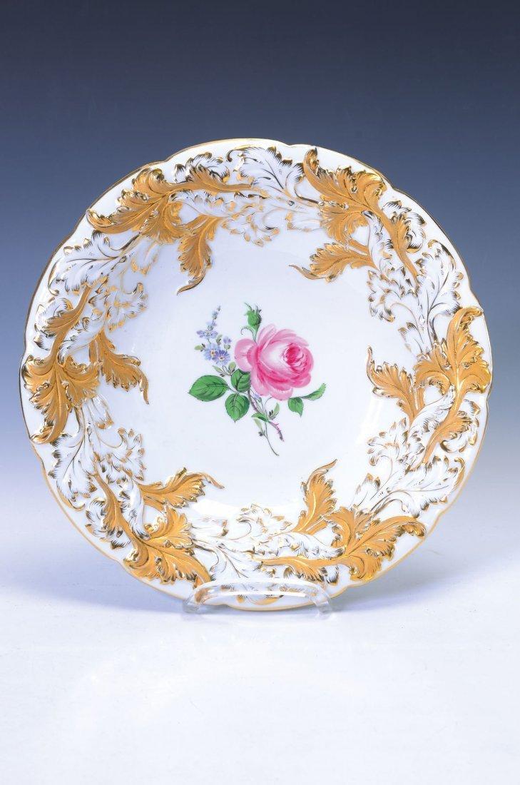 large pompous bowl, Meissen, Pfeifer time, around