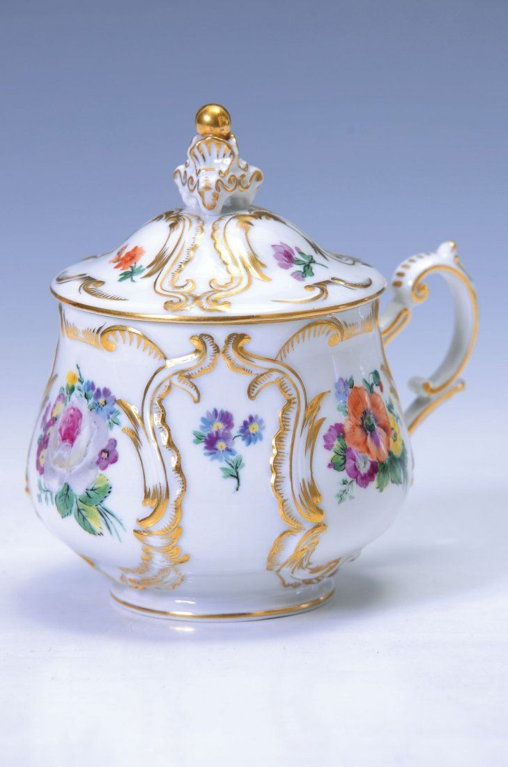 lidded cup, Berlin, Penny mark, around 1850, in