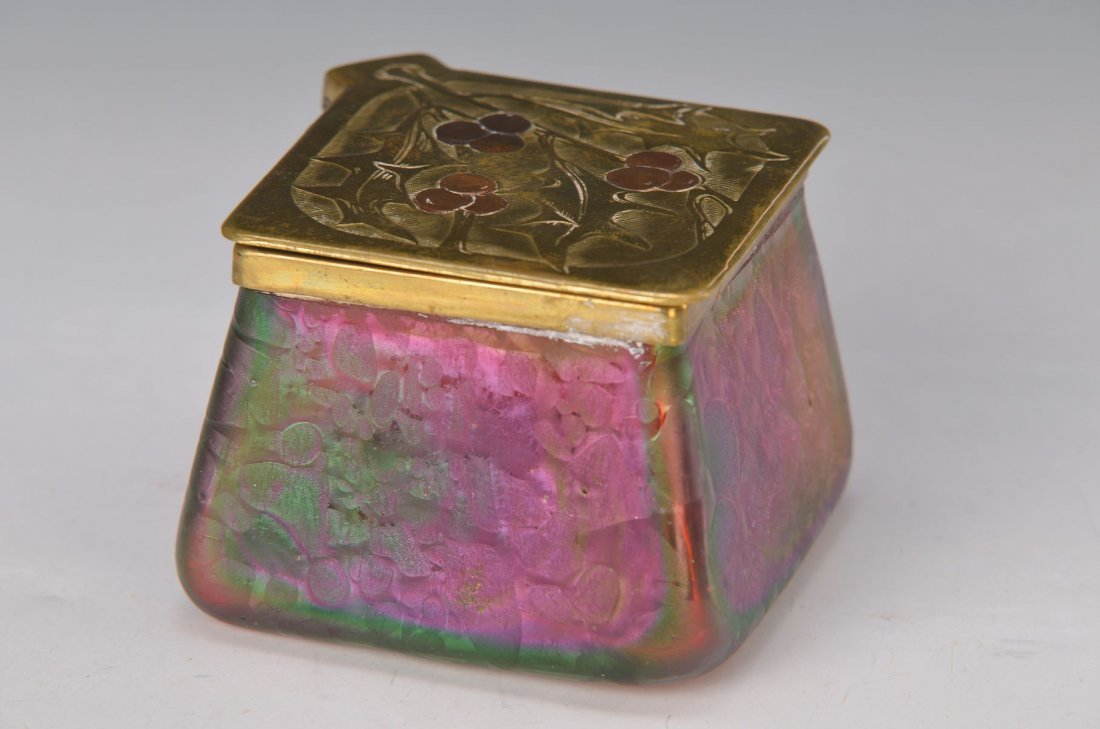 Cover vessel or ink pot, Austria/ German, around 1900