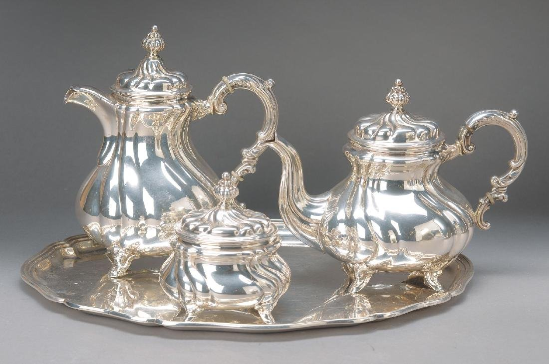 coffee- and tea-Set, German, Bruckmann