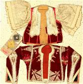 (3 Lots) 1x Lakai 'Textile', 2x Ottoman 'Metal-Thread