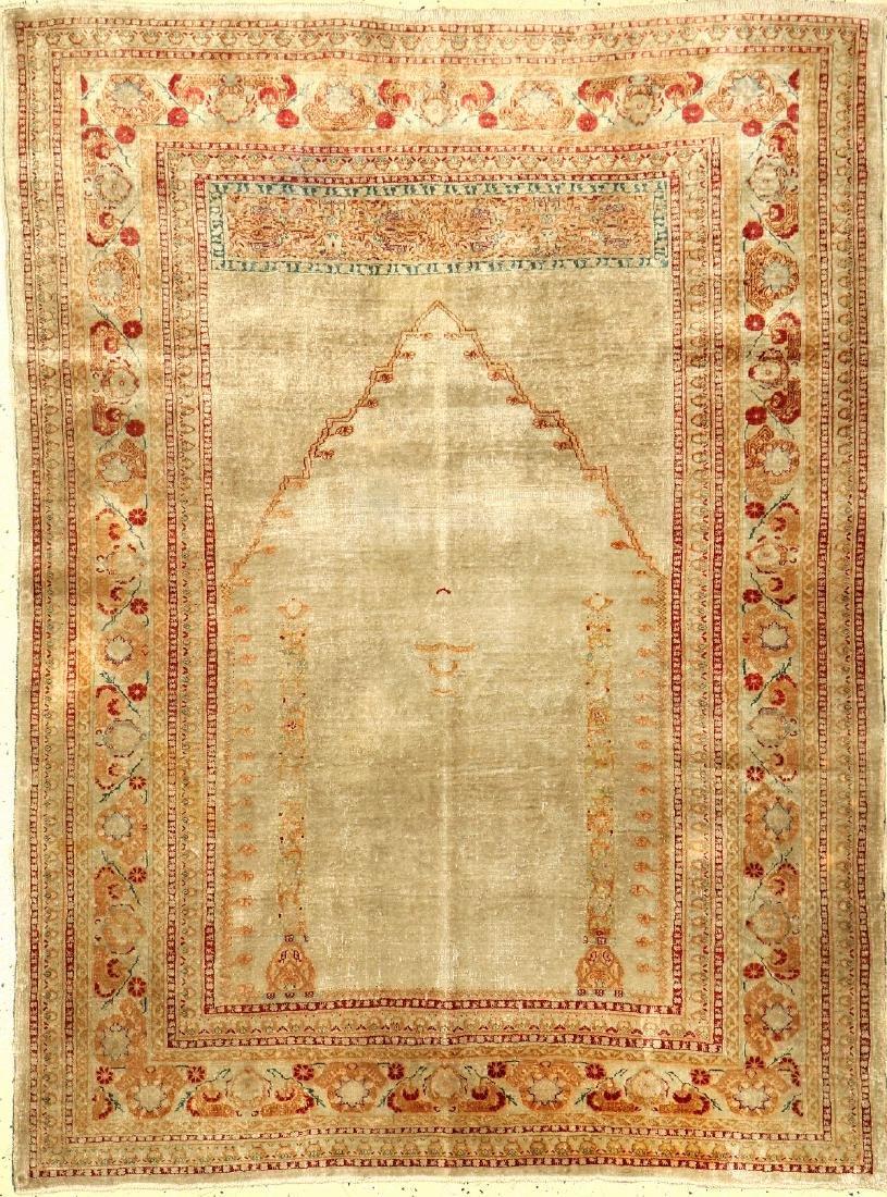 Silk Tabriz 'Hadji-Jalili' antik,
