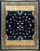 Rare Beijing Palace Carpet (Qing Dynastie),