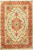 Fine Tabriz 'Part-Silk' Carpet,