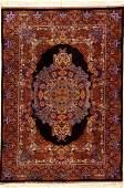 Very Fine & Unique Silk Qum 'Raymon' (Sigend)