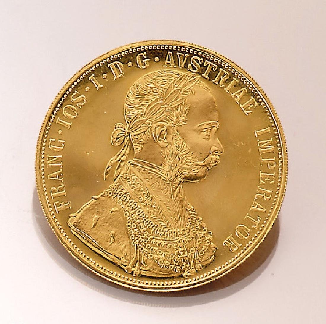 Gold coin 4 ducats