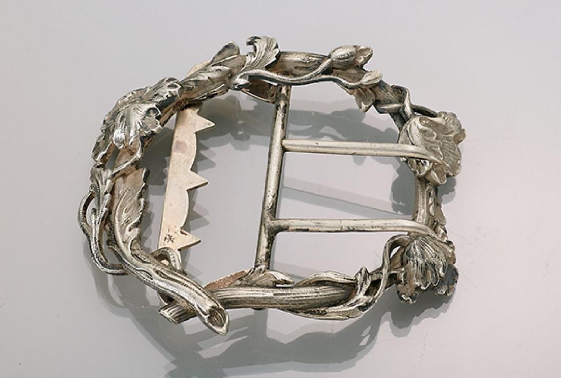 Art Nouveau belt buckle, France approx. 1900