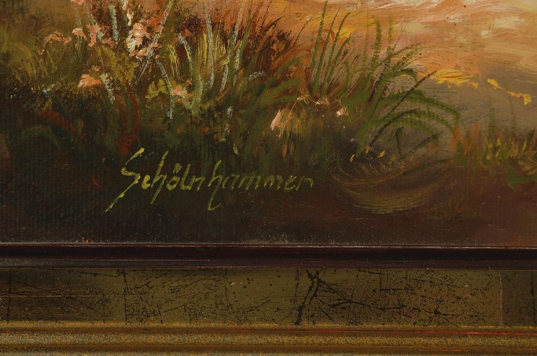 Heinz Schölnhammer, b. 1940 Vienna, hut in themountains - 2