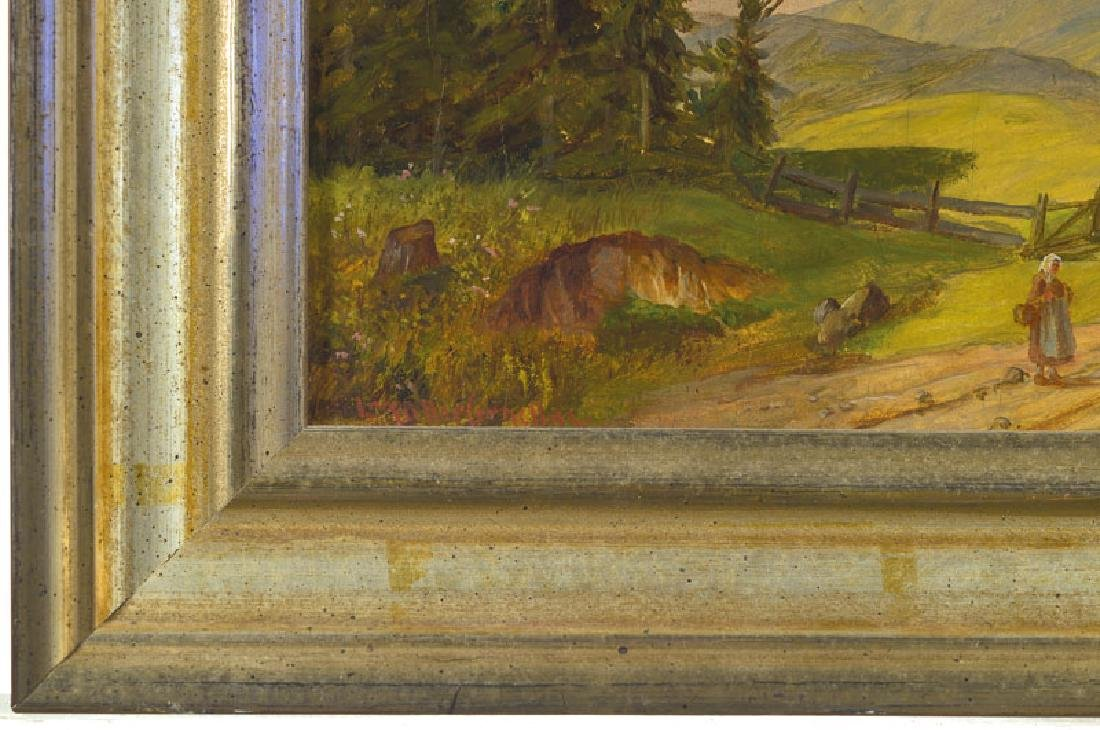 Ludwig Mueller Cornelius, 1864 Munich 1946, cows and - 2