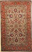 Tehran antique Rug Persia around 1900 wool on cotton