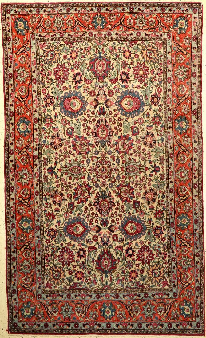 Tehran antique Rug, Persia, around 1900, wool on cotton