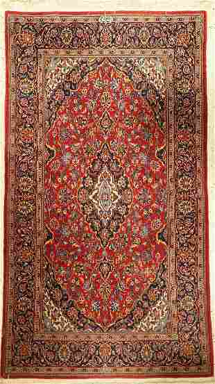 Keschan Sign Rug Shadsar Persia approx 40 years