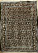 Keschan old Carpet (Signed), Persia, approx. 60 years