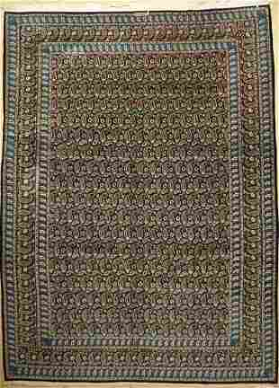 Keschan old Carpet Signed Persia approx 60 years