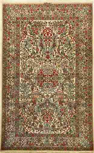Esfahan Nakhsh fine Rug Persia c 40 years wool