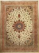 Tabriz fine Carpet, Persia, approx. 40 years, wool with