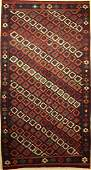 Veramin kilim old Persia around 1930 wool on wool