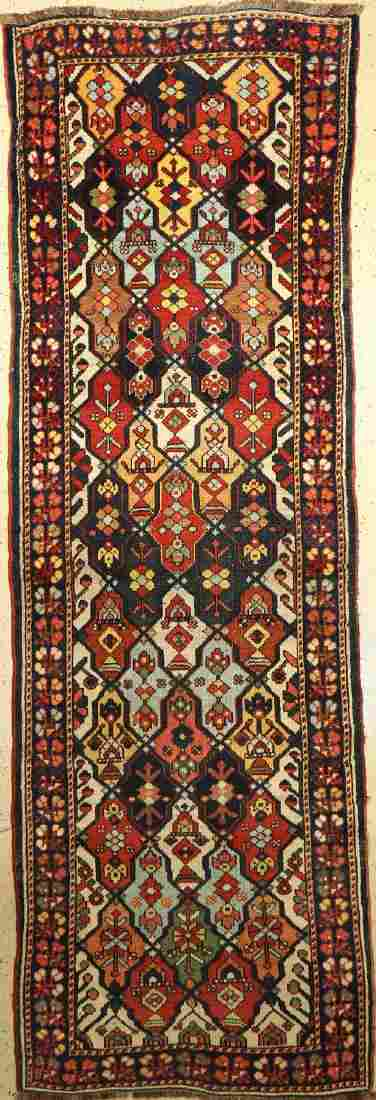 Bachtiar old Carpet, Persia, around 1940, woolon wool