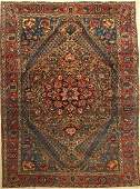 Bachtiar old Carpet, Persia, approx. 60 years,wool on