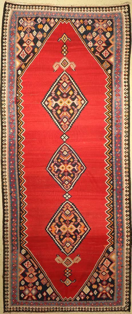 Bidjar Kilim old, Persia, around 1940, wool oncotton