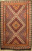 Luri Bachtiari kilim antique, Persia, around 1900, wool