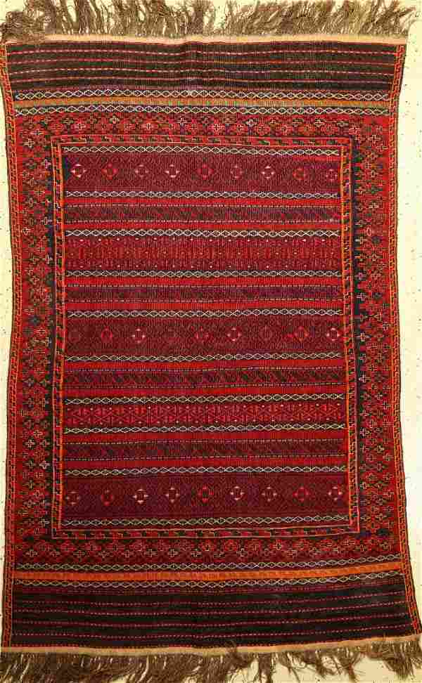 Sumagh Baluch, Persia, around 1950, wool on wool