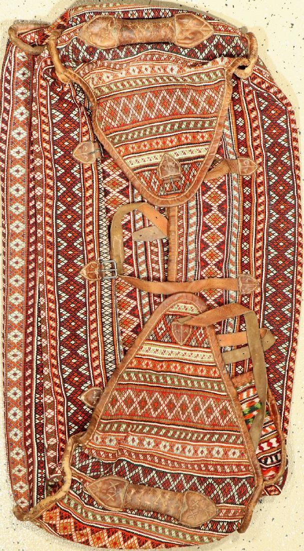Gaschgai 'Mafrash' old, Persia, around 1940, wool on
