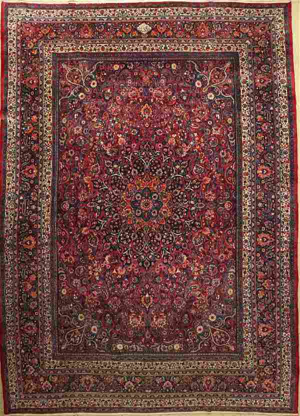 Birjand Alt Signed Carpet, Persia, approx. 50 years,