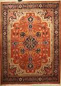 Heriz, Azerbaijan Carpet, approx. 40 years, wool on